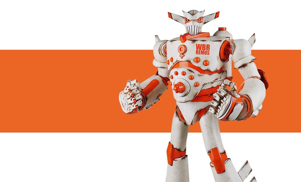 Gallery Feature Image of Worlds Best Robots - Remus Collectible Figure - Click to open image gallery