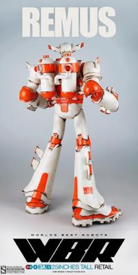 Gallery Image of Worlds Best Robots - Remus Collectible Figure