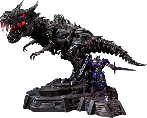 Prime 1 Studio Grimlock Optimus Prime Version Statue