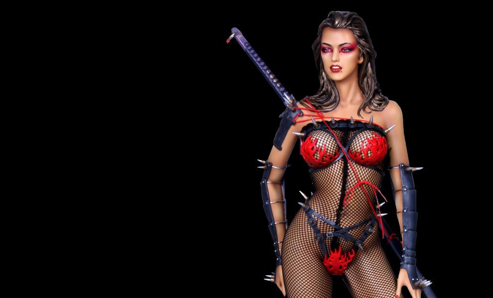 Gallery Feature Image of Lady Ninja Statue - Click to open image gallery