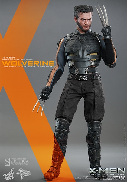 """X-man Wolverine Logan 1//6 Business Suit w// Claws F 12/"""" Action Figures Doll Body"""