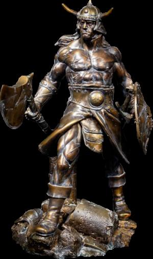 Conan the Brutal Faux Bronze Statue
