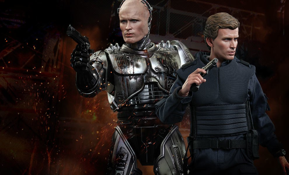 Gallery Feature Image of Robocop Battle Damaged Version & Alex Murphy Sixth Scale Figure - Click to open image gallery
