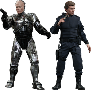 Robocop Battle Damaged Version & Alex Murphy Sixth Scale Figure