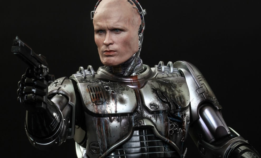 Gallery Feature Image of RoboCop Battle Damaged Version Sixth Scale Figure - Click to open image gallery