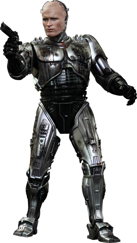 Hot Toys RoboCop Battle Damaged Version Sixth Scale Figure