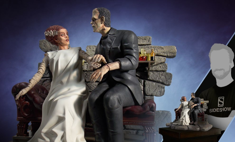 Gallery Feature Image of Bride of Frankenstein Statue - Click to open image gallery