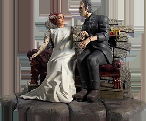 Moebius Models Bride of Frankenstein Statue