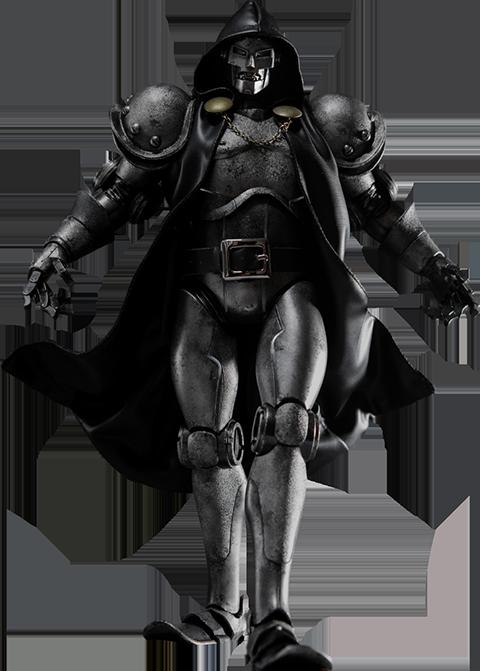 ThreeA Toys Doctor Doom - Stealth Sixth Scale Figure