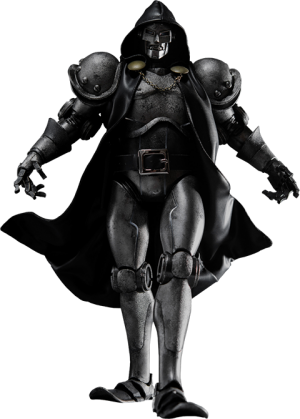 Doctor Doom - Stealth Sixth Scale Figure