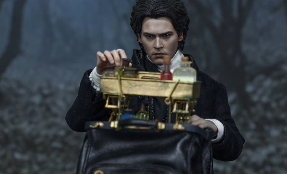 Gallery Feature Image of Ichabod Crane Sixth Scale Figure - Click to open image gallery