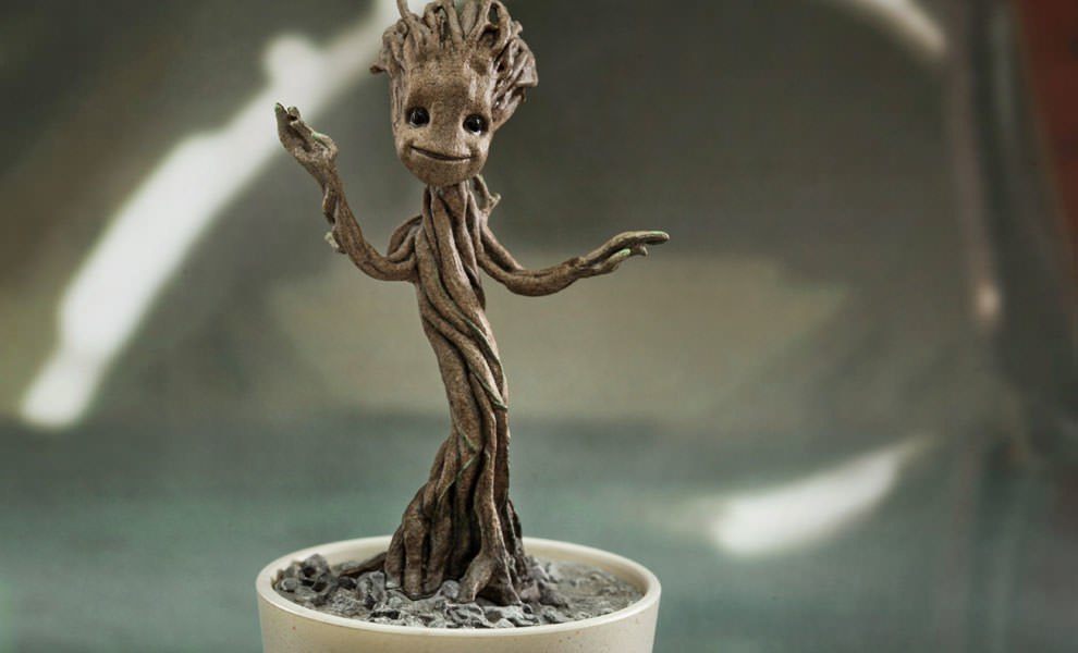Gallery Feature Image of Little Groot Quarter Scale Figure - Click to open image gallery