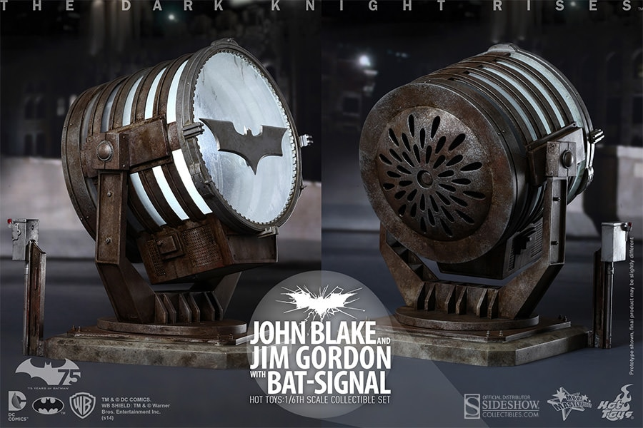 Hot Toys TDKR Batman JOHN BLAKE /& JIM GORDON Figure Set 1//6 JIM GORDON STAND
