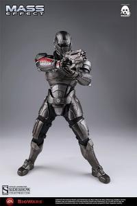 Gallery Image of Commander Shepard Sixth Scale Figure