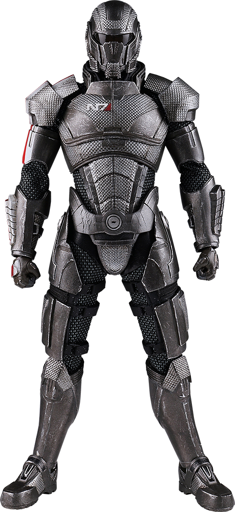 Threezero Commander Shepard Sixth Scale Figure