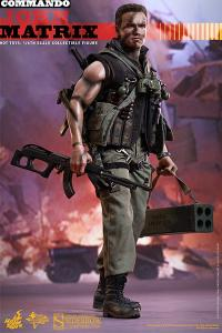 Gallery Image of John Matrix Sixth Scale Figure