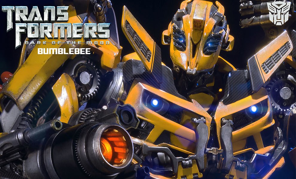 Gallery Feature Image of Bumblebee Polystone Statue - Click to open image gallery