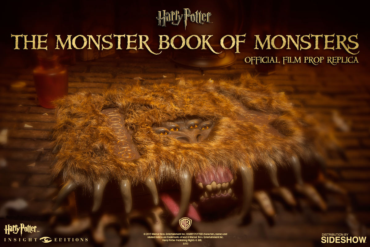 Harry Potter The Monster Book of Monsters Official Film Pro