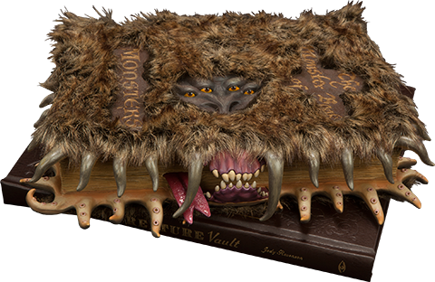 Insight Collectibles The Monster Book of Monsters  Prop Replica