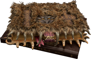 The Monster Book of Monsters  Prop Replica
