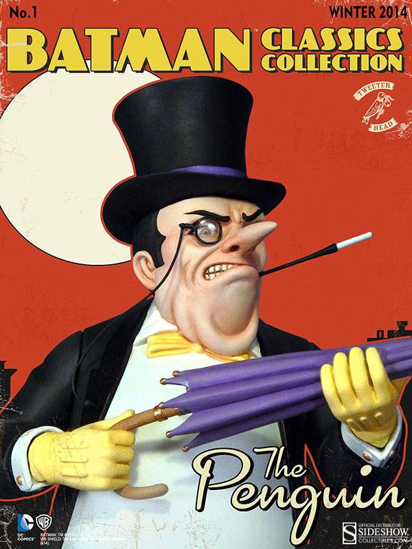 DC Comics Batman Classic Collection 11 inch Penguin Maquette By Tweeterhead