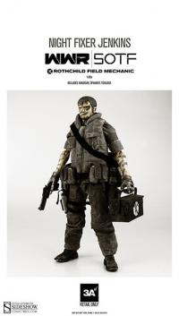 Gallery Image of WWR Rothchild Field Mechanic - Night Fixer Jenkins Sixth Scale Figure