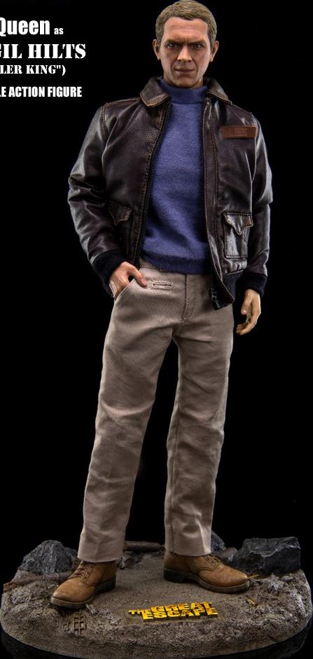 Star Ace Toys Ltd. Steve McQueen (Capt. Virgil Hilts) Sixth Scale Figure