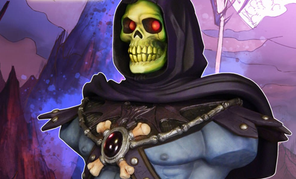 Gallery Feature Image of Skeletor Collectible Bust - Click to open image gallery