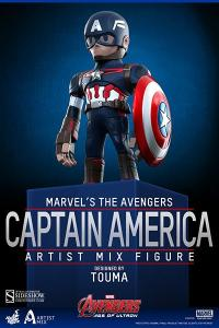 Gallery Image of Captain America - Artist Mix Collectible Figure