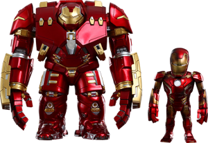 Mark XLIII Battle Damaged Version and Hulkbuster - Artist Mix Collectible Set