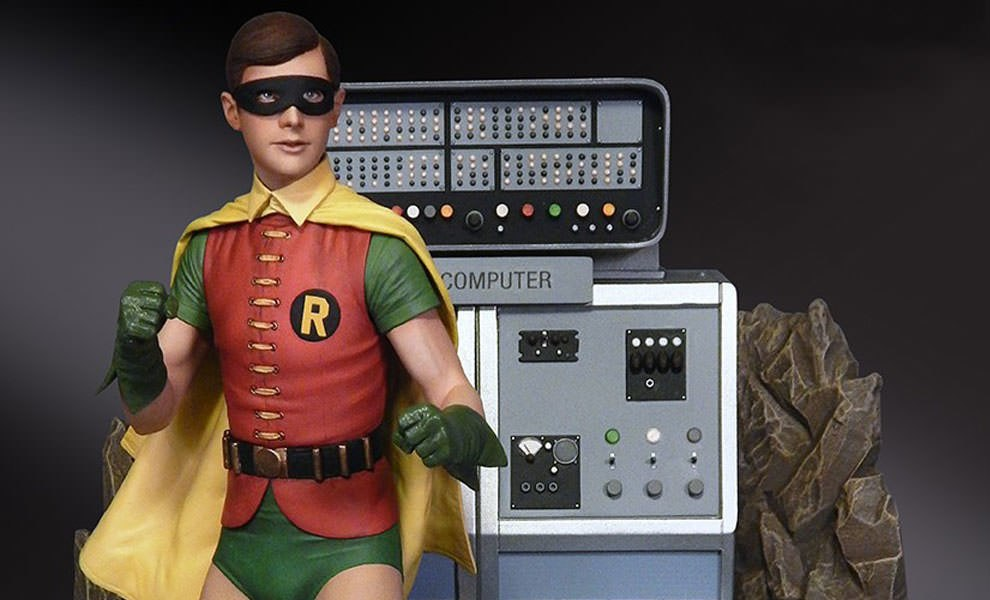 Gallery Feature Image of Robin the Boy Wonder Maquette Diorama - Click to open image gallery