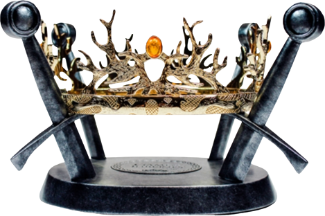 Factory Entertainment Royal Crown of the Houses Baratheon & Lannister Prop Replica