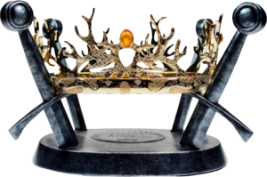 Royal Crown of the Houses Baratheon & Lannister Prop Replica
