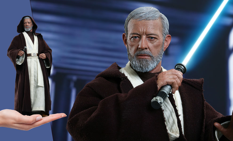 Gallery Feature Image of Obi-Wan Kenobi Sixth Scale Figure - Click to open image gallery
