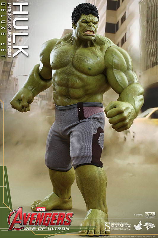 2 inches Marvel Avengers Age of Ultron Avengers HULK Action Figure Prototype