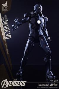 Gallery Image of Iron Man Mark VII Stealth Mode Version Sixth Scale Figure