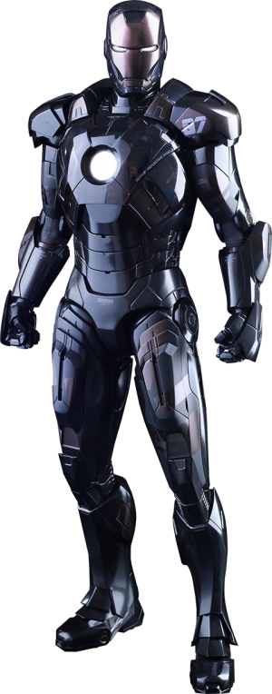 Iron Man Mark VII Stealth Mode Version Sixth Scale Figure