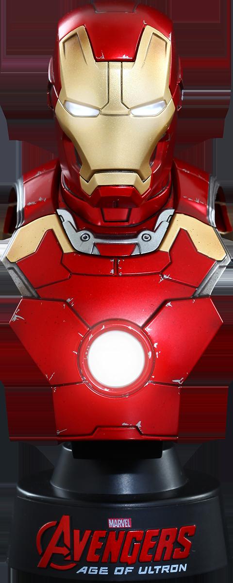 Hot Toys Iron Man Mark XLIII Collectible Bust