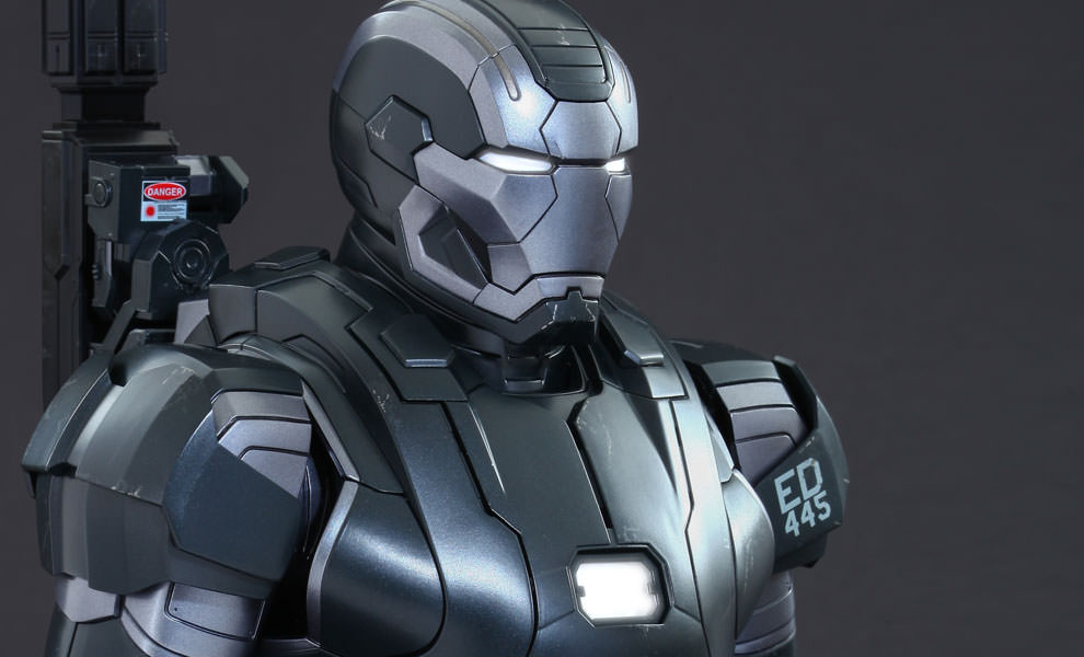Gallery Feature Image of War Machine Mark II Quarter Scale Collectible Bust - Click to open image gallery