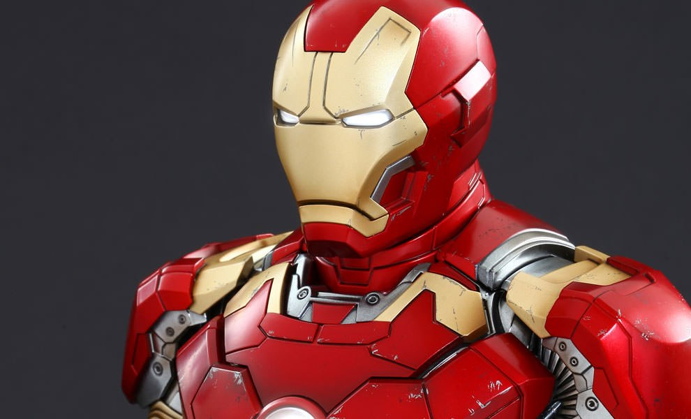 Gallery Feature Image of Iron Man Mark XLIII Quarter Scale Collectible Bust - Click to open image gallery