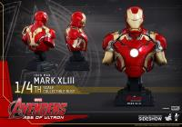 Gallery Image of Iron Man Mark XLIII Quarter Scale Collectible Bust