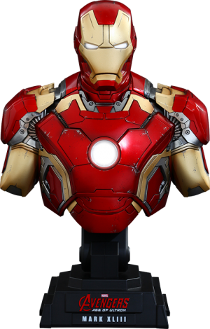 Iron Man Mark XLIII Quarter Scale Collectible Bust