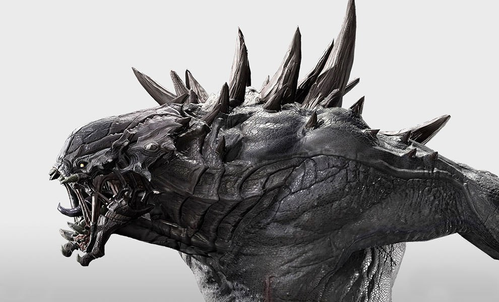 Gallery Feature Image of Evolve Goliath Statue - Click to open image gallery
