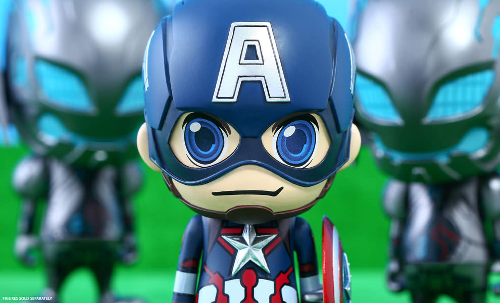 Gallery Feature Image of Captain America Vinyl Collectible - Click to open image gallery