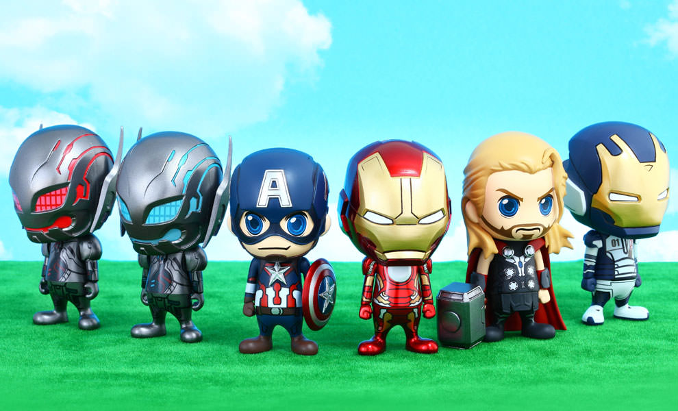 Gallery Feature Image of Avengers Age of Ultron Collectible Set Vinyl Collectible - Click to open image gallery