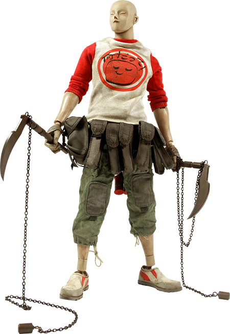 ThreeA Toys Tomorrow Kings Underverse Ranger - SENSAI KOGEKI Red Sixth Scale Figure