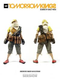 Gallery Image of Tomorrow Kings Underverse Ranger - DAI NI SUTORAIKI Yellow Sixth Scale Figure