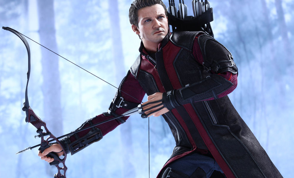 Gallery Feature Image of Hawkeye Sixth Scale Figure - Click to open image gallery