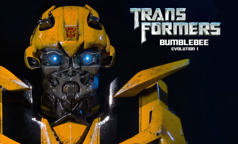 Gallery Feature Image of Bumblebee Bust - Click to open image gallery