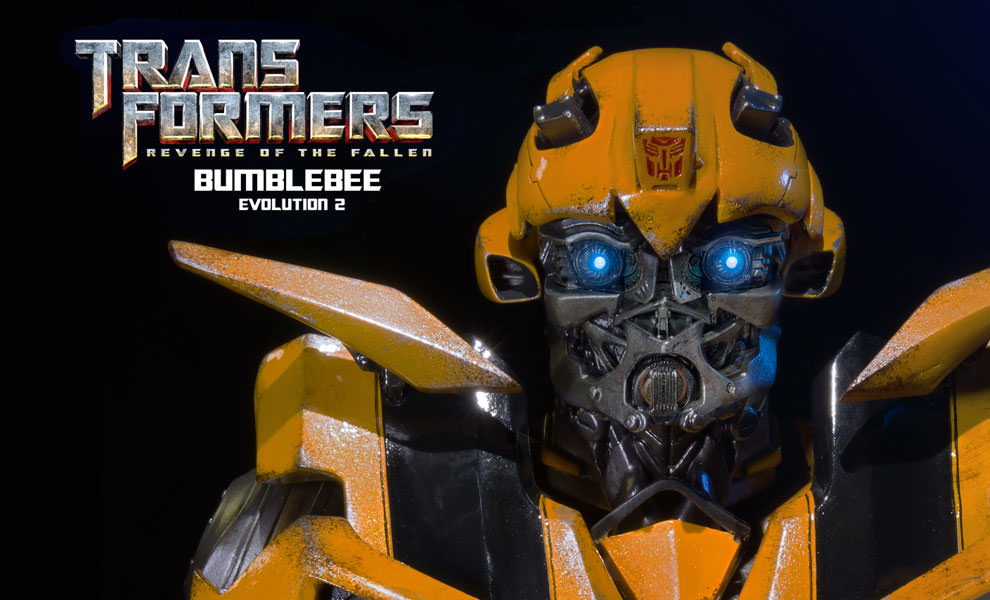 Gallery Feature Image of Bumblebee - Revenge of the Fallen Bust - Click to open image gallery
